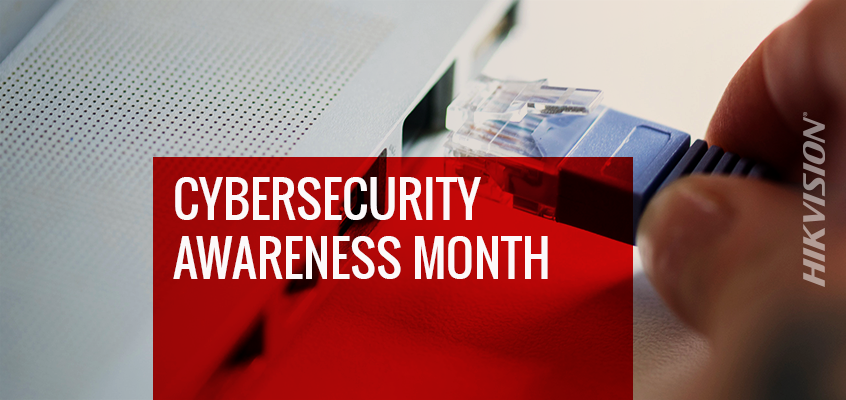 Hikvision Helps to Raise Cybersecurity Awareness during US Government's National Cybersecurity Awareness Month