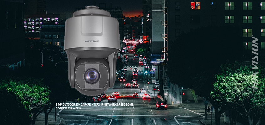 Hikvision S New Darkfighter Ptz Surveillance Cameras
