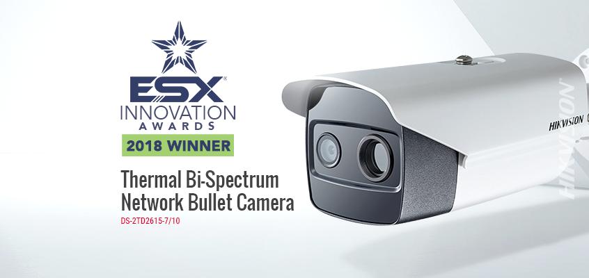 Hikvision Wins 2018 ESX Innovation Award for Video Surveillance