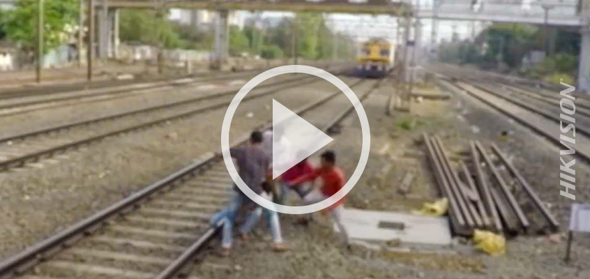 Fun Friday Video: Group of Friends Save One When Foot Gets Stuck in Train Tracks