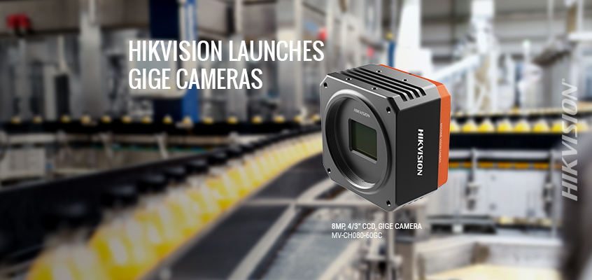 Hikvision Launches 14 New GigE Area Scan Cameras, Offering Greater Selection with Rapid Data Transmission for Factory Automation and Detection