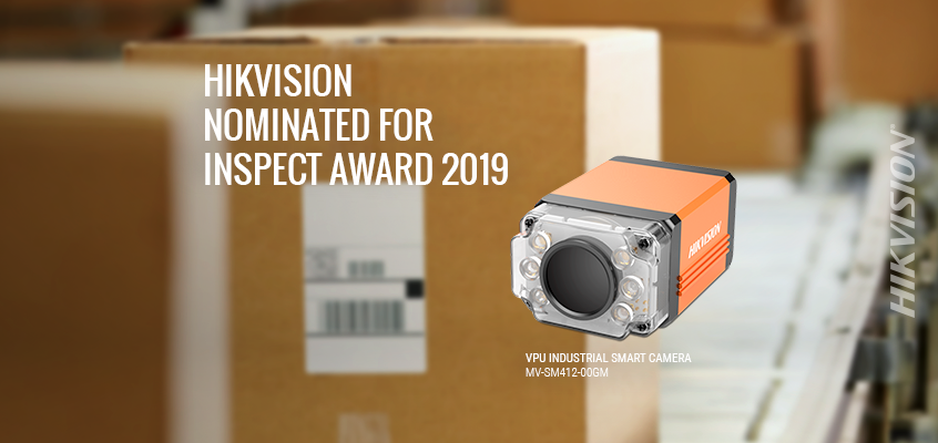 Hikvision's VPU Industrial Smart Camera Nominated for the Germany Inspect Award 2019, Voting Open Through October 15th