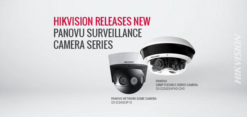 Hikvision Releases New PanoVu Surveillance Camera Series