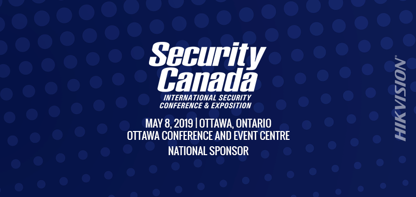 Hikvision Canada a National Sponsor of Security Canada Ottawa, Will Showcase Cold-Weather Rated Dome, Turret, and PanoVu Cameras, HikCentral CMS in Exhibit Hall