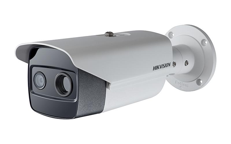 Thermal and Optical Bi-Spectrum Network Bullet Camera