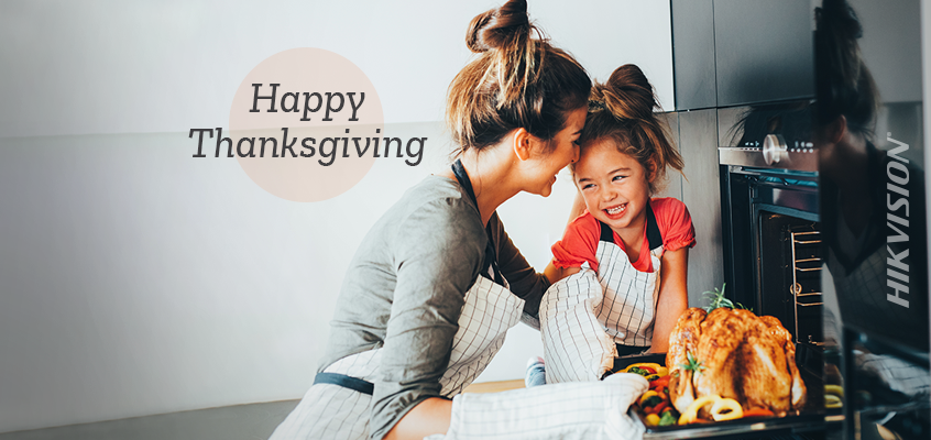 Hikvision HikWire blog article Happy Thanksgiving