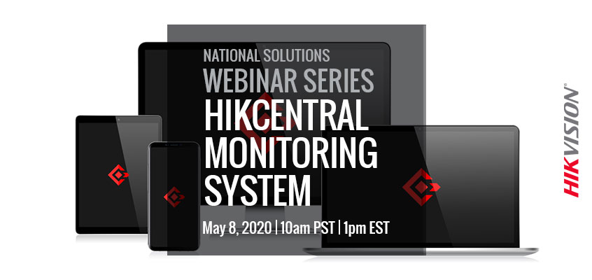 Hikvision HikWire blog article Friday, June 26 HikCentral CMS Tools Webinar